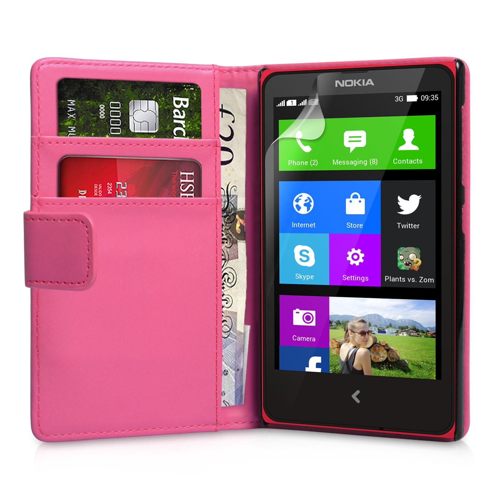 Θήκη Nokia X - Πορτοφόλι by YouSave (Z350)