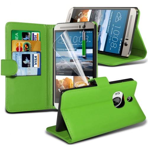 Θήκη HTC One M9 Plus - Πορτοφόλι (001-028-008) - OEM