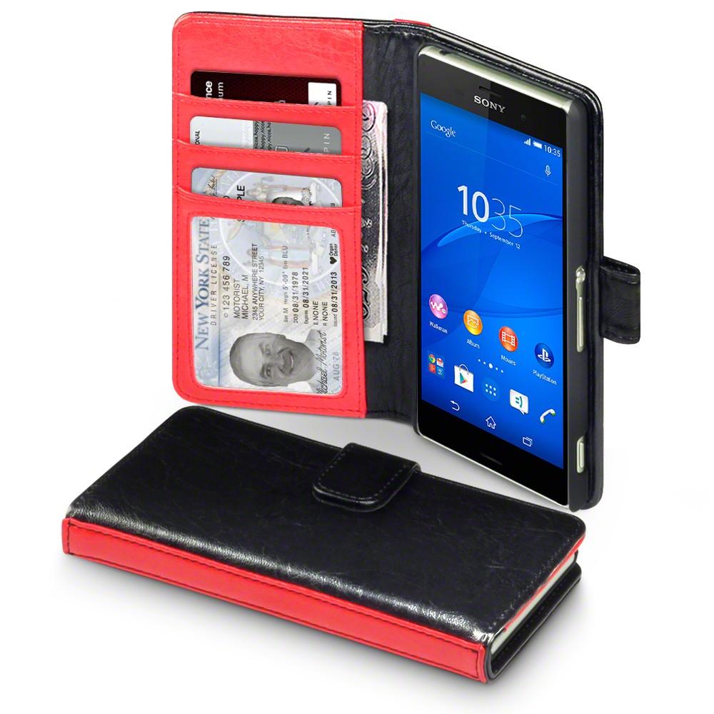 Δίχρωμη Θήκη Sony Xperia Z3 - Πορτοφόλι by Covert (117-005-307)