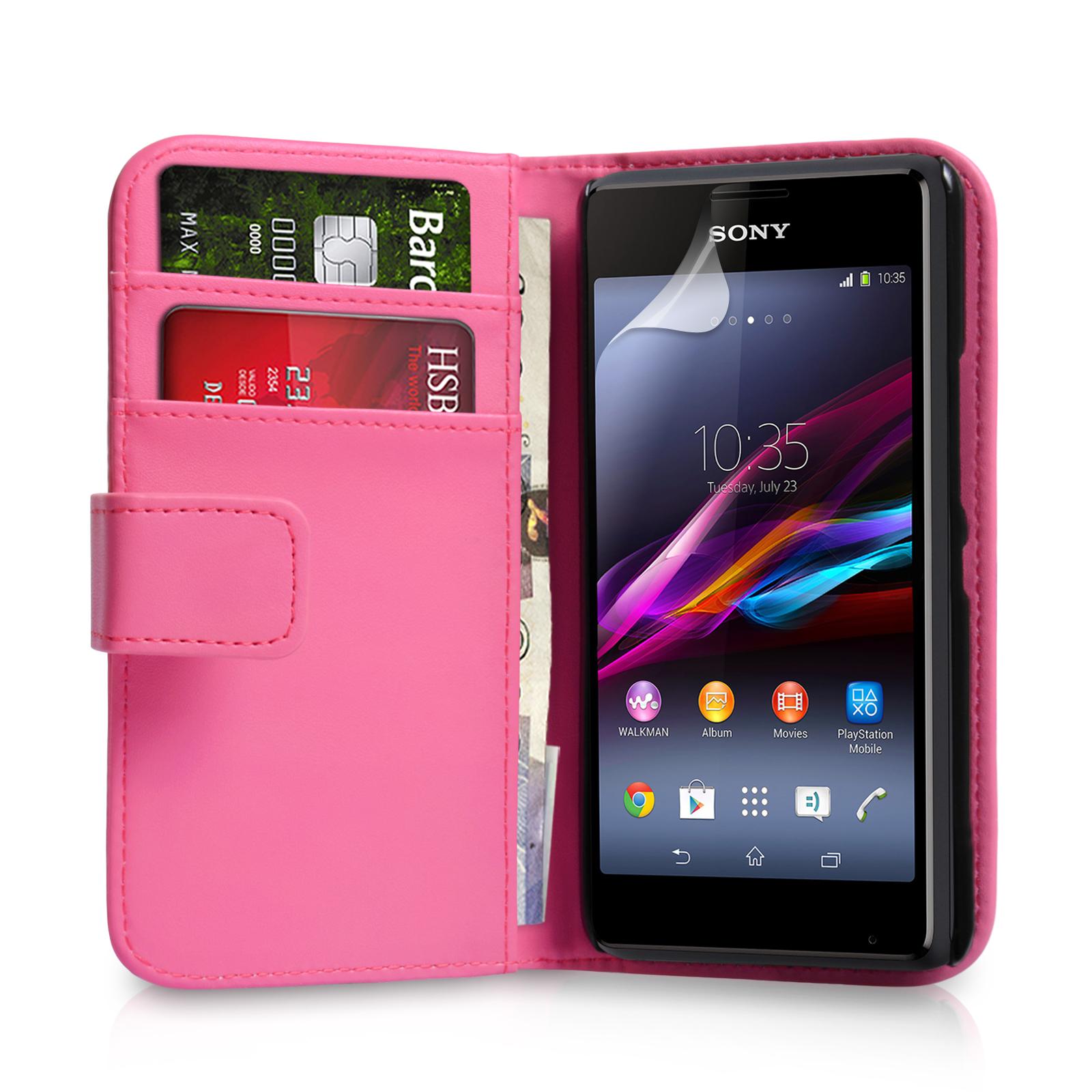 Θήκη Sony Xperia E1 - Πορτοφόλι by YouSave (Z456)