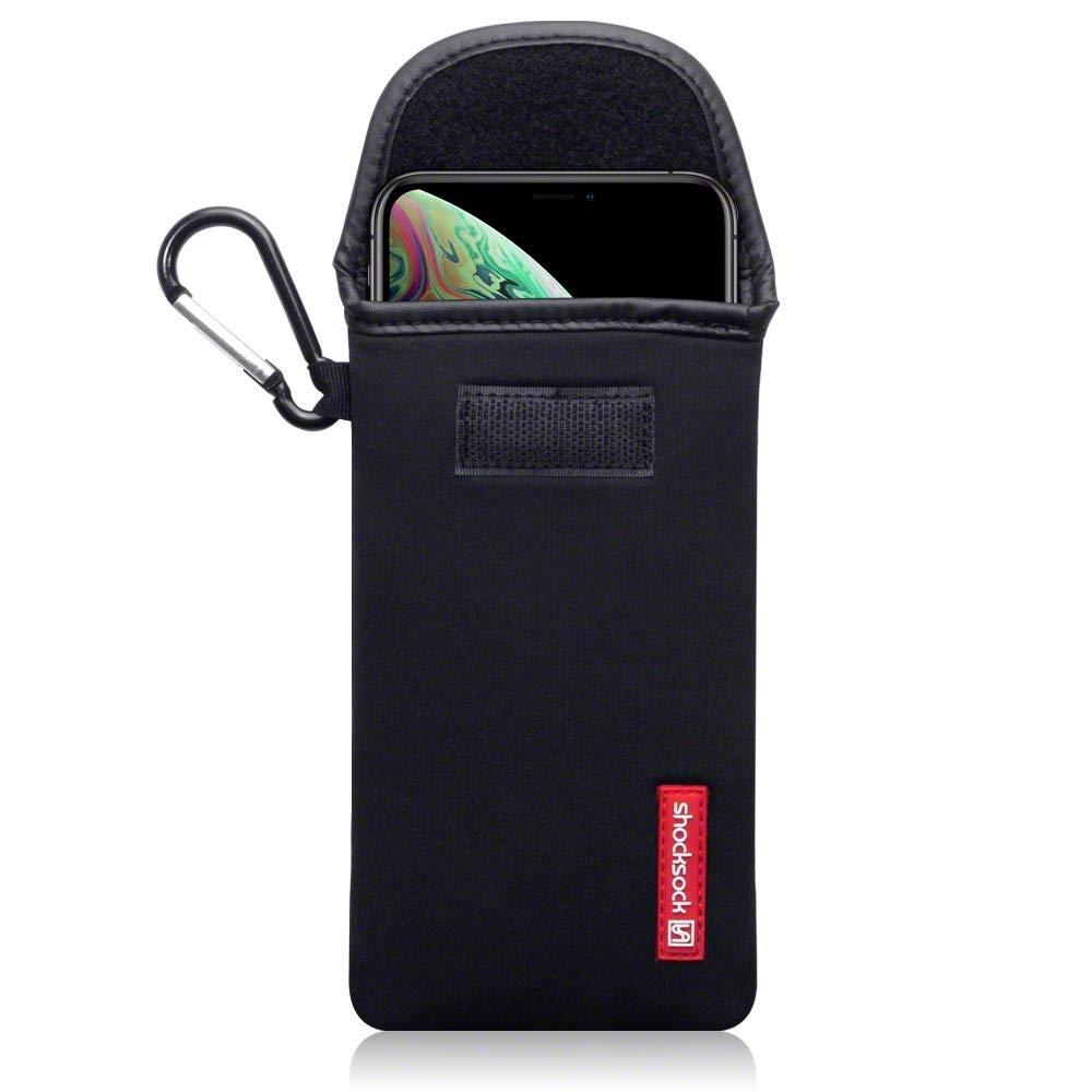 Shocksock Θήκη - Πουγκί iPhone XS Max -  Black (121-126-001)
