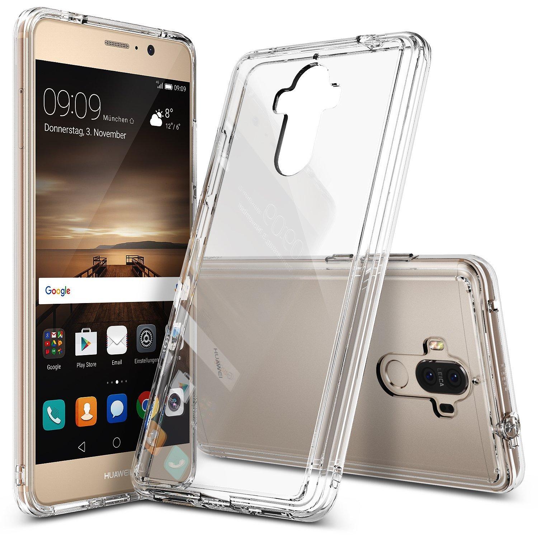 Ringke (Fusion) Διάφανη Θήκη Huawei Mate 9 PC με TPU Bumper + Screen Protector (9259)