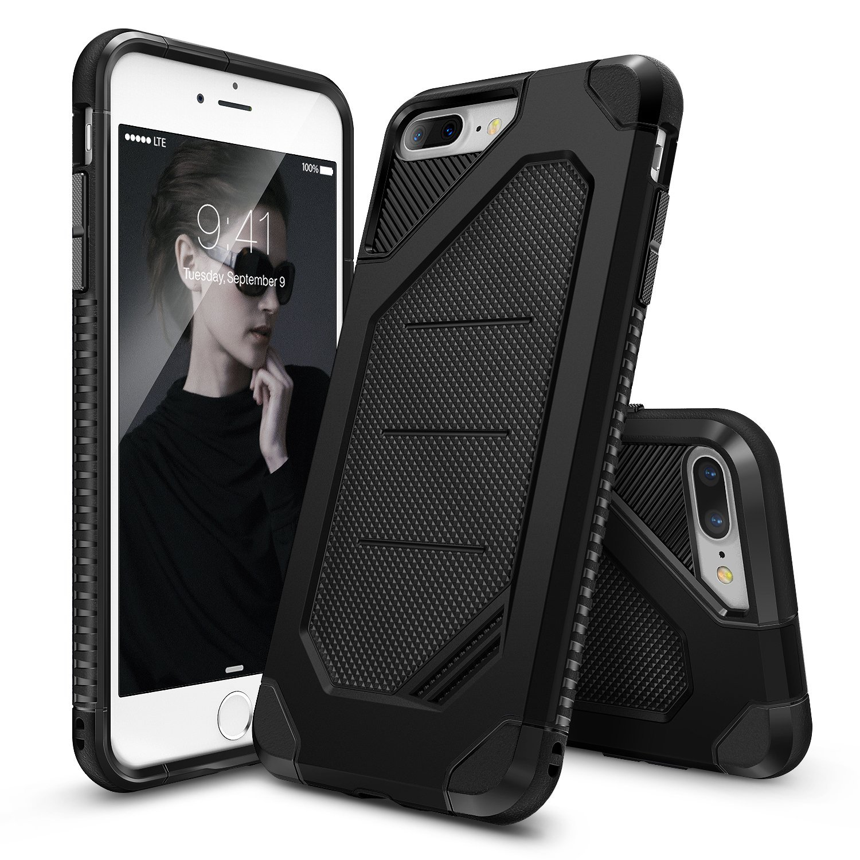 Ringke Max Θήκη iPhone 8 Plus / iPhone 7 Plus - Black (RMX-IP7P-BK)
