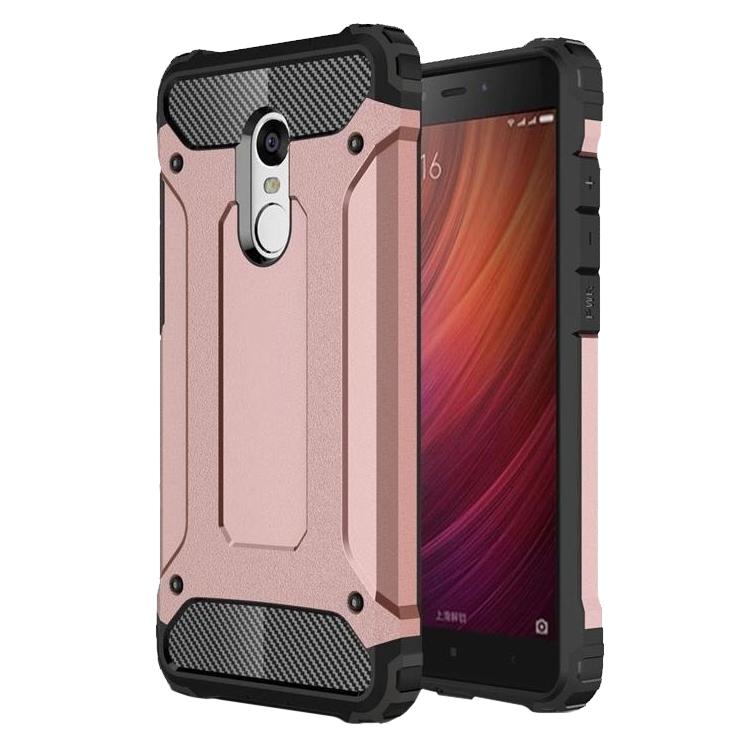 SHTL Ανθεκτική Θήκη Tech Armor Xiaomi Redmi Note 4 - Rose Gold (139204)