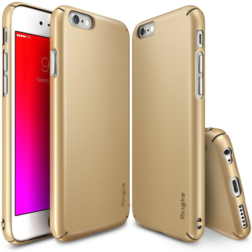 Ringke (Slim) Θήκη iPhone 6 Plus/ 6S Plus - Royal Gold (10163)