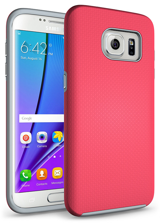 SHTL Ανθεκτική Θήκη Samsung Galaxy S7 Edge - Pink (101293)