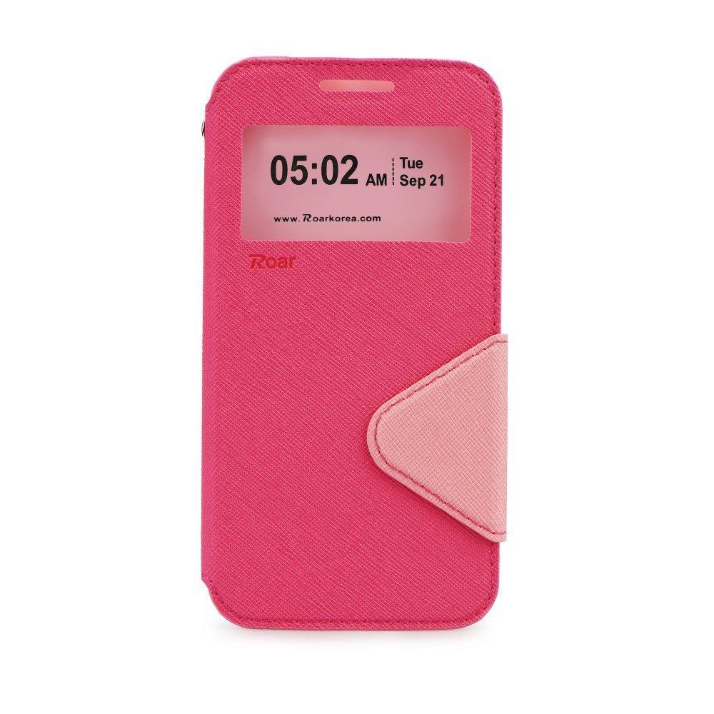 Roar Θήκη - Πορτοφόλι Samsung Galaxy J5 (2015) - Φούξια/ Ροζ (9886)