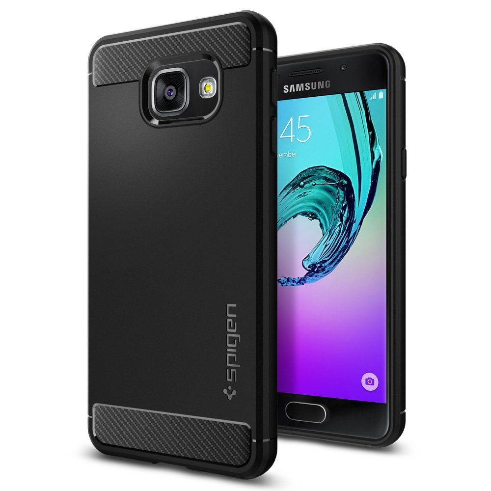 Spigen Θήκη Tough Rugged Armor Samsung Galaxy A3 II (2016) - Black (564CS20633)