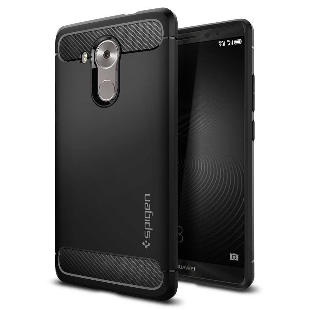 Spigen Θήκη Rugged Armor Huawei Mate 8 - Black (SGP11849)