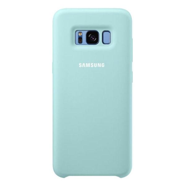 Samsung Official Silicon Cover - Θήκη Σιλικόνης Samsung Galaxy S8 Plus - Blue (EF-PG955TLEGWW)