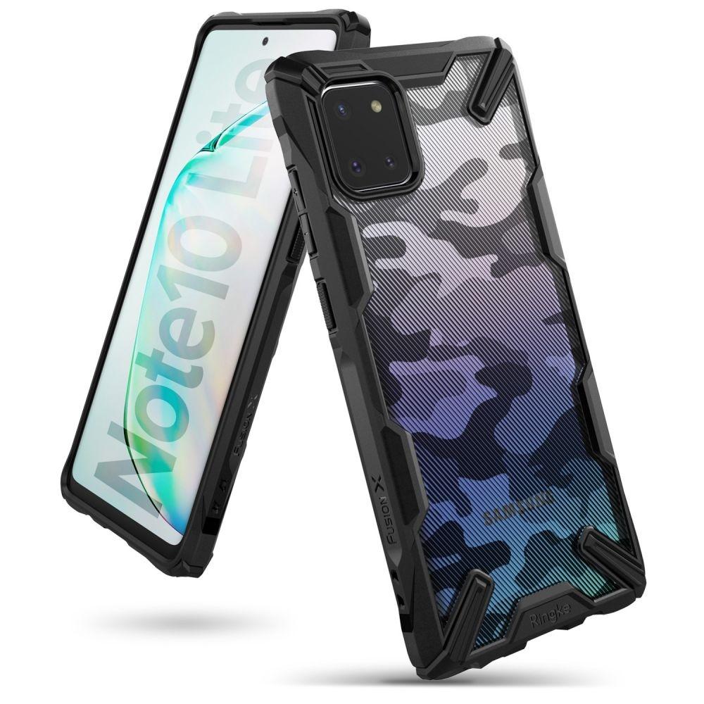 Ringke Fusion X Θήκη Σιλικόνης Samsung Galaxy Note 10 Lite - Camo Black (63180)