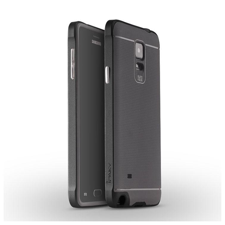 Ipaky Θήκη Hybrid Samsung Galaxy Note 4 - Black (9994)