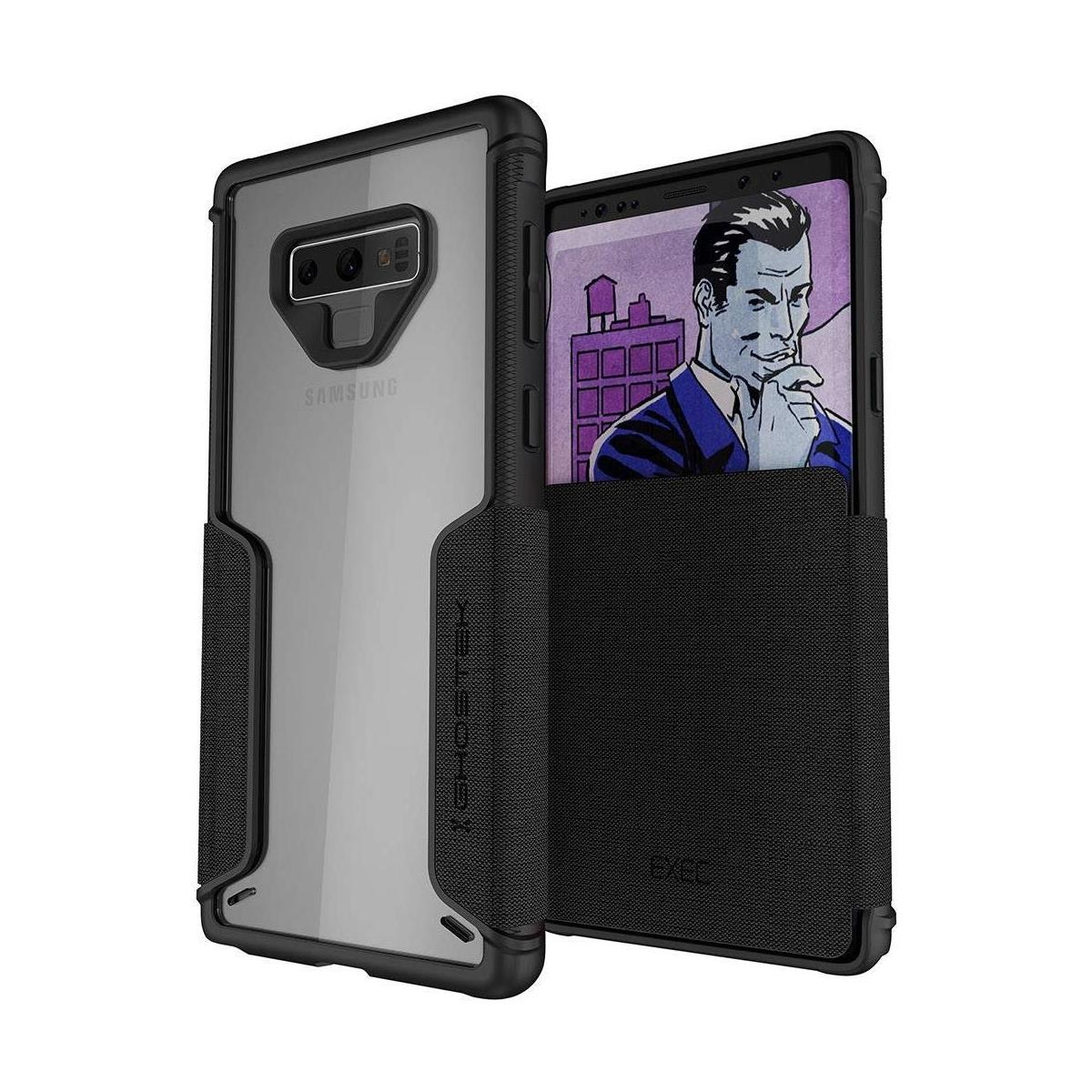 Ghostek Exec 3 - Θήκη Πορτοφόλι Samsung Galaxy Note 9 - Black (GHOCAS996)