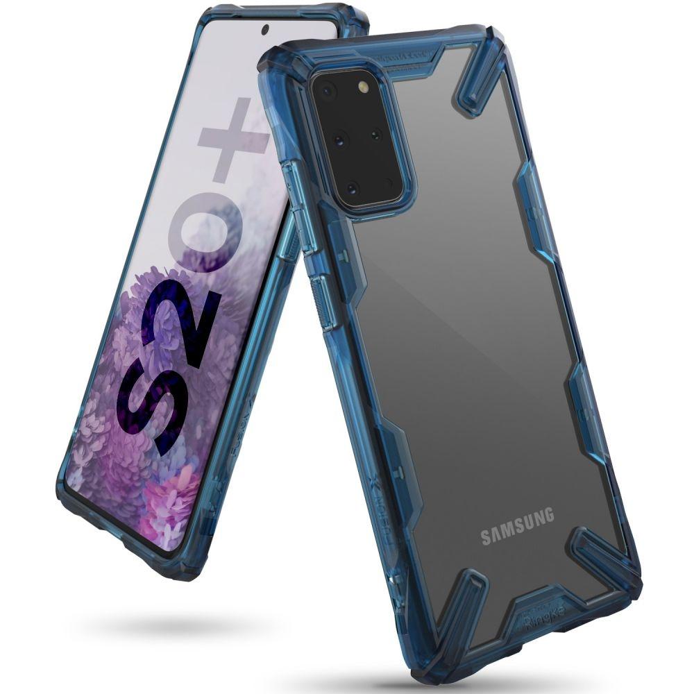 Ringke Fusion X Θήκη Σιλικόνης Samsung Galaxy S20 Plus - Blue (63172)