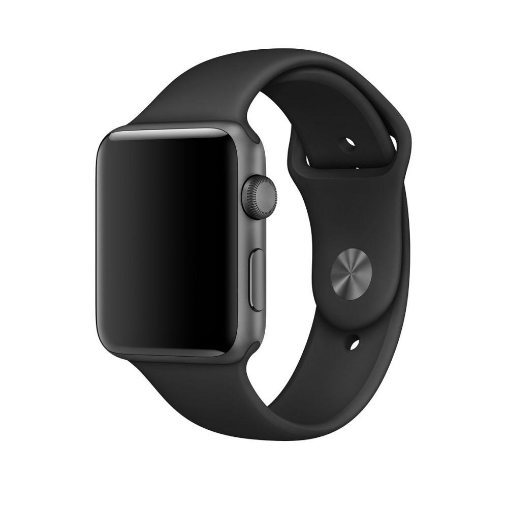 Ανταλλακτικό Λουράκι Apple Watch 5/4/3/2/1 (44/42 mm) - Black (14244) - OEM