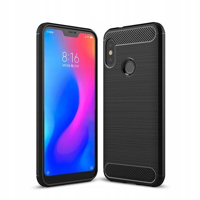 Θήκη TPU Carbon Xiaomi Mi A2 Lite / Redmi 6 Pro - Black (13830) - OEM