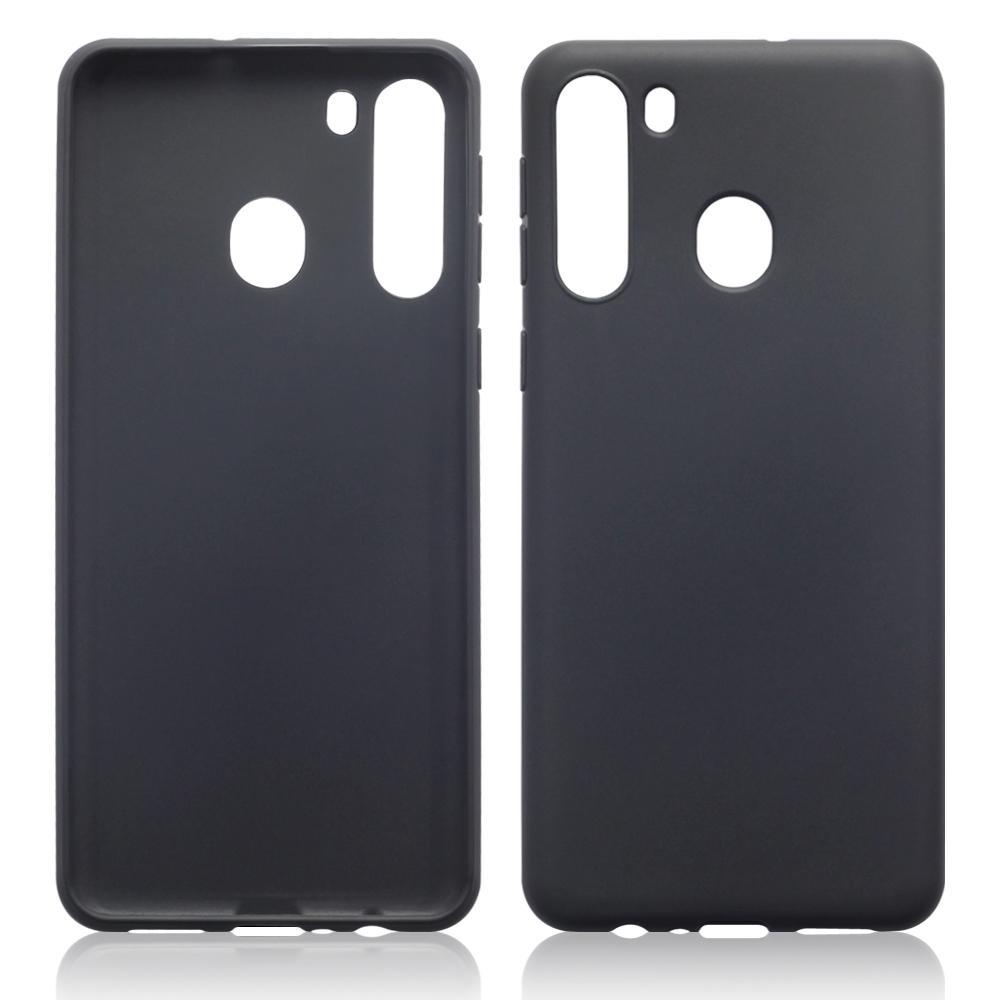Terrapin Θήκη Σιλικόνης Samsung Galaxy A21 - Black Matte (118-002-847)