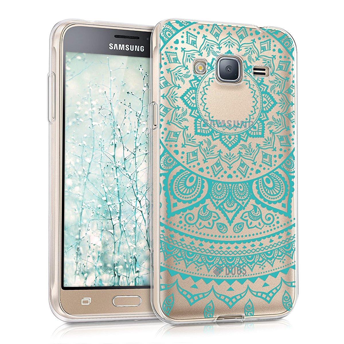 KW Θήκη Σιλικόνης Samsung Galaxy J3 (2016) (39048.04) - Indian Sun Mint