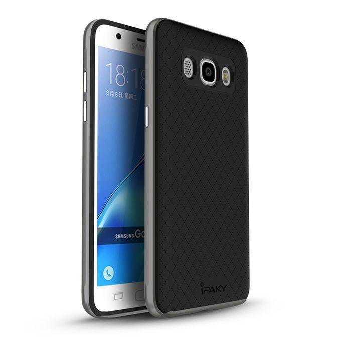 Ipaky Θήκη Premium Hybrid Samsung Galaxy J7 (2016) - Grey (9181)