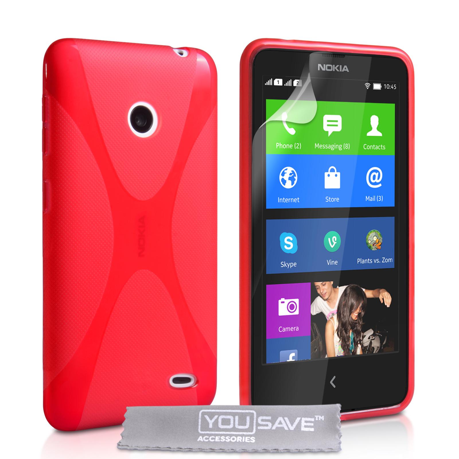 Ημιδιάφανη Θήκη Nokia X by YouSave (Z319)