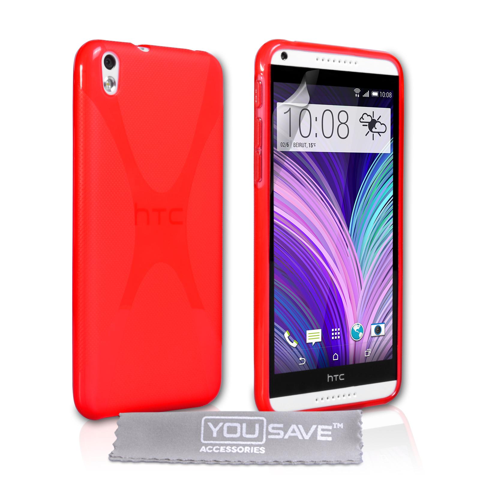 Ημιδιάφανη Θήκη HTC Desire 816 by YouSave (Z381)