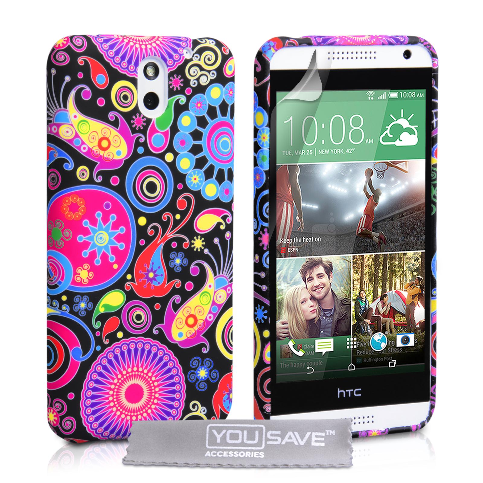 Θήκη HTC Desire 610 by YouSave (Z439) θήκες κινητών