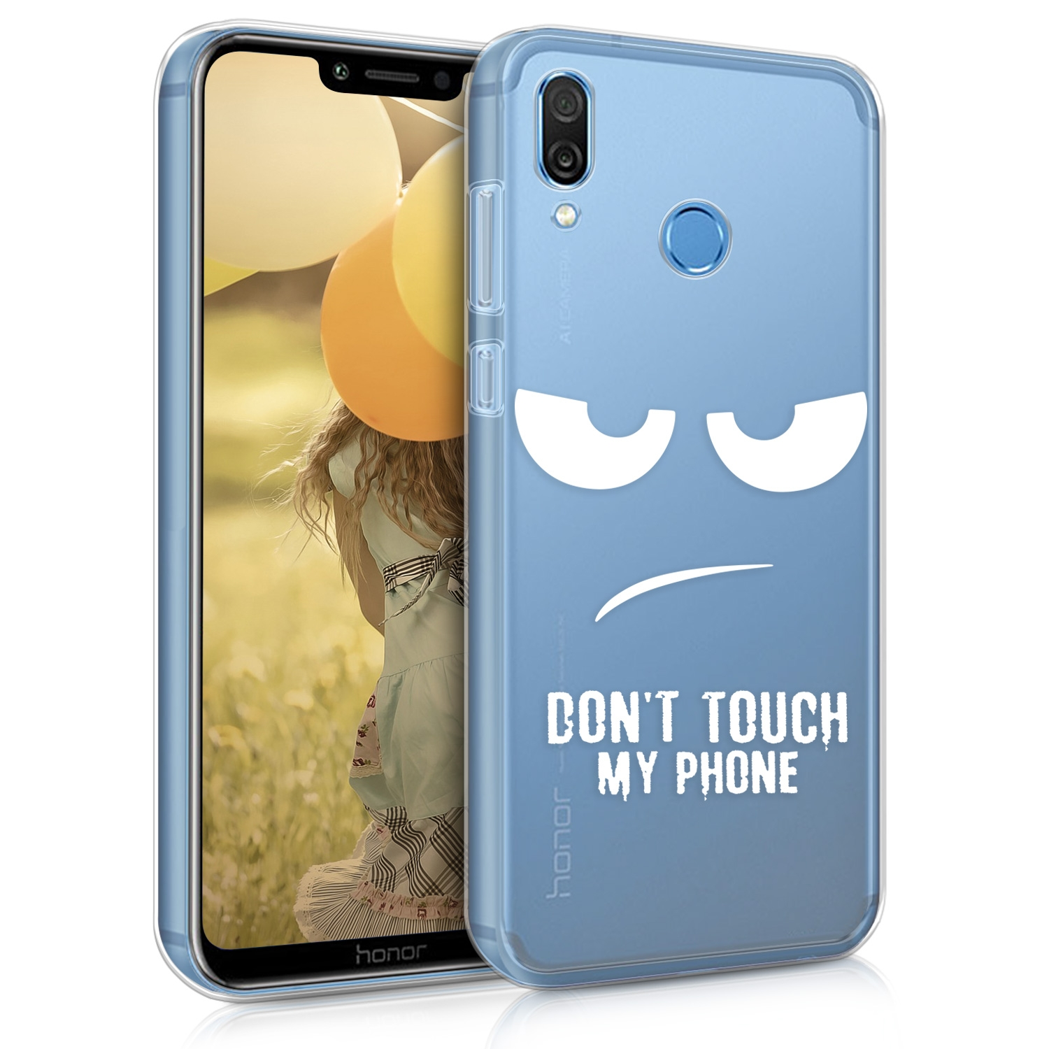 KW Θήκη Σιλικόνης Honor Play - Don't Touch My Phone (46099.01)