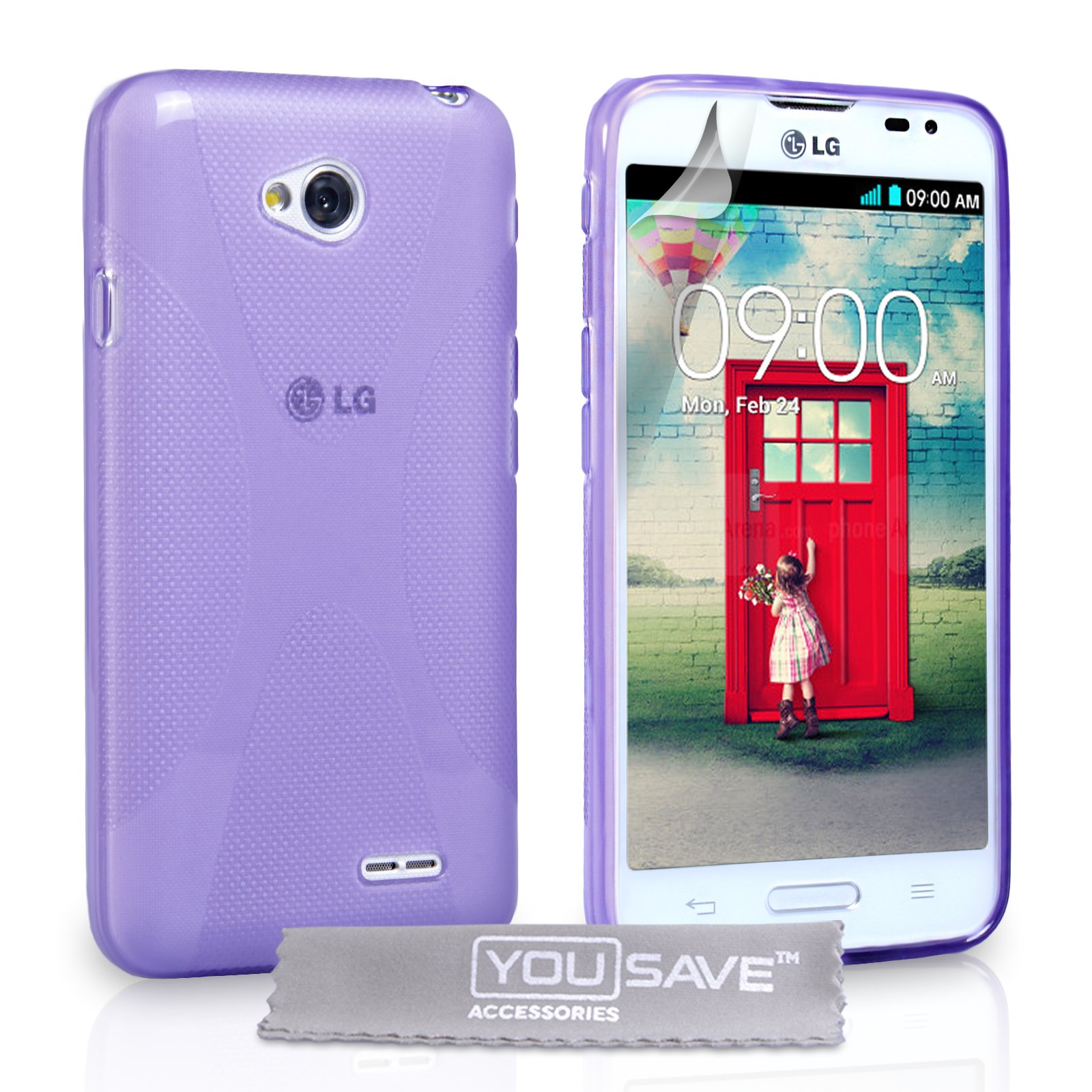 Ημιδιάφανη Θήκη LG L70 by YouSave (Z576)