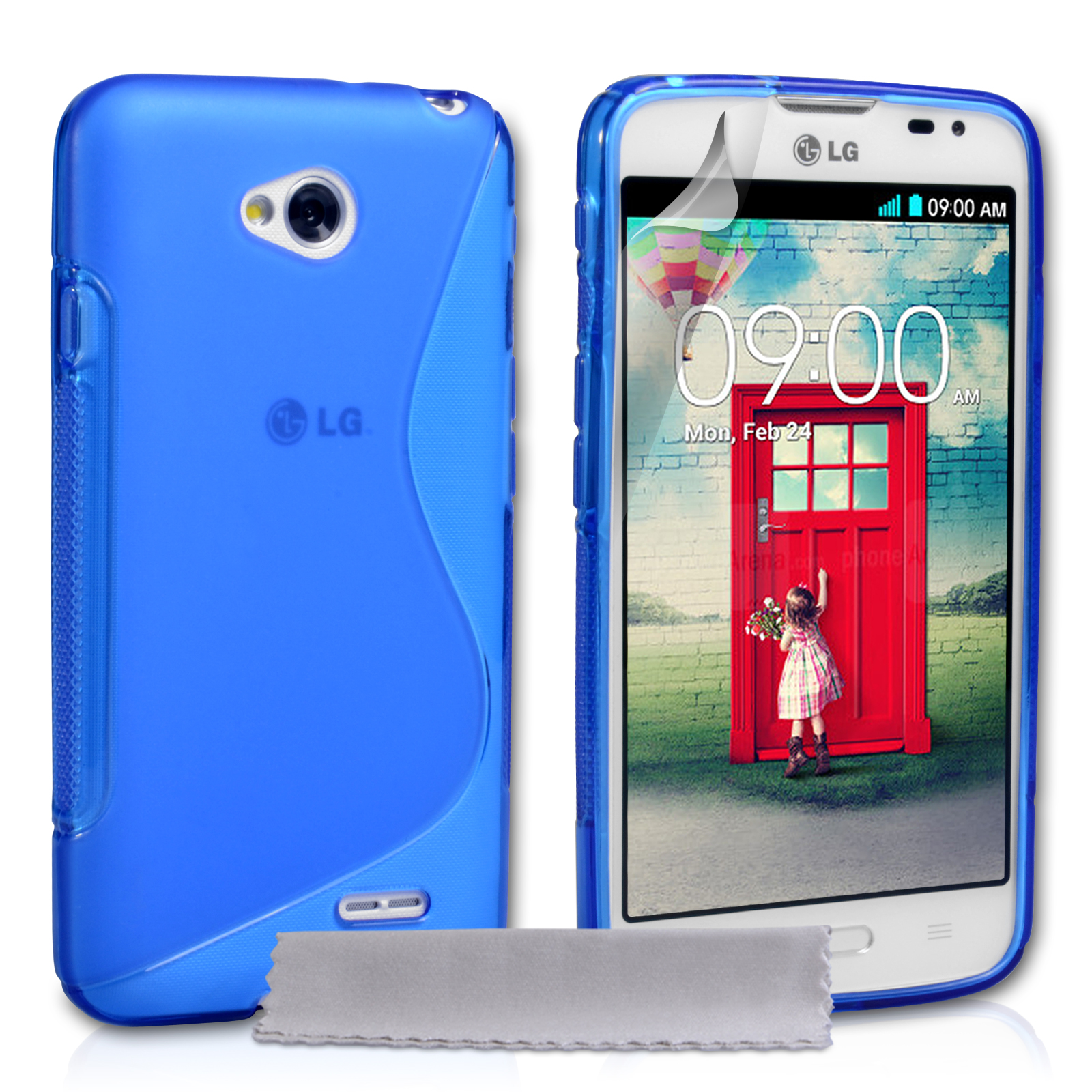 Ημιδιάφανη Θήκη LG L70 by YouSave (Z580LG)