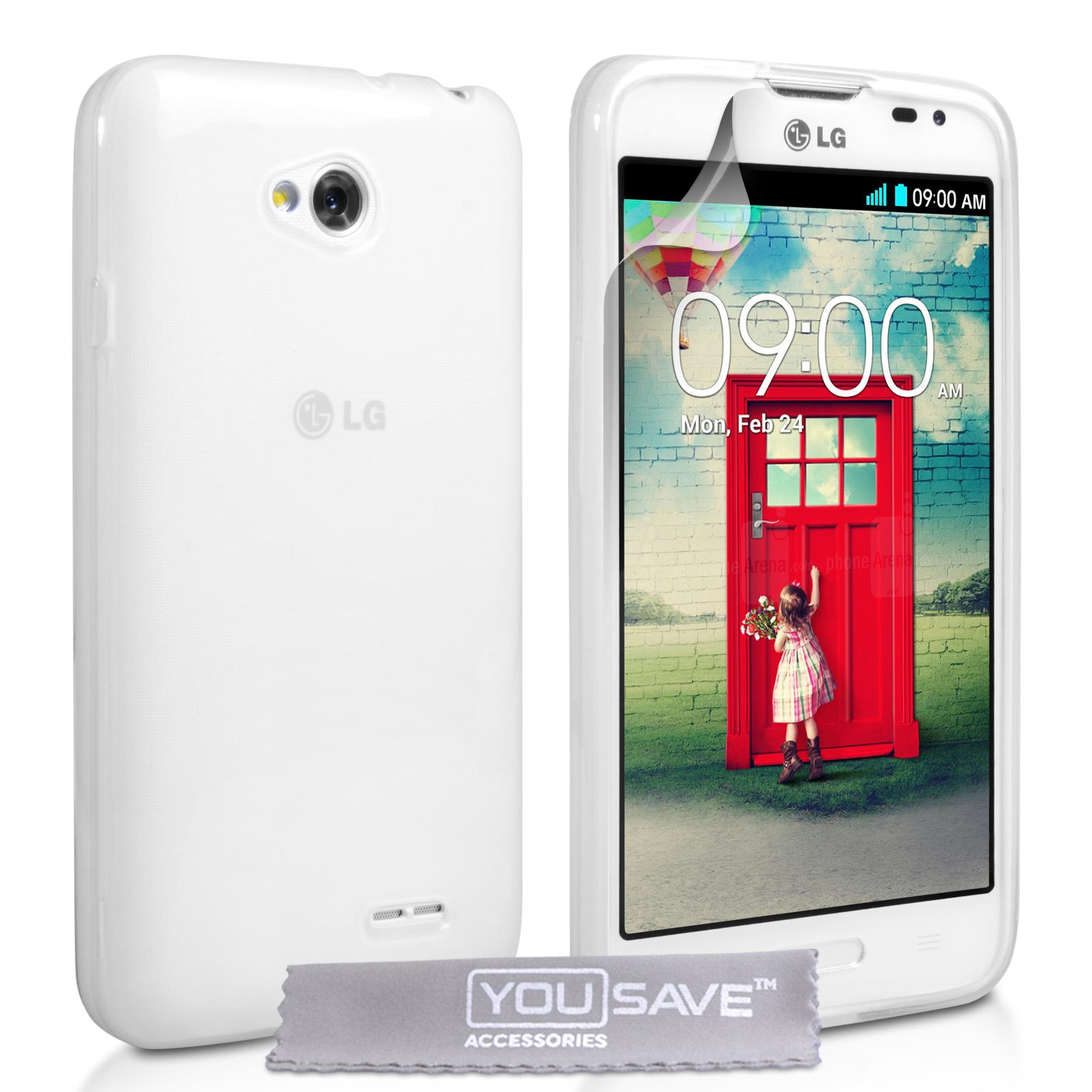 Ημιδιάφανη Θήκη LG L70 by YouSave (Z573SG)