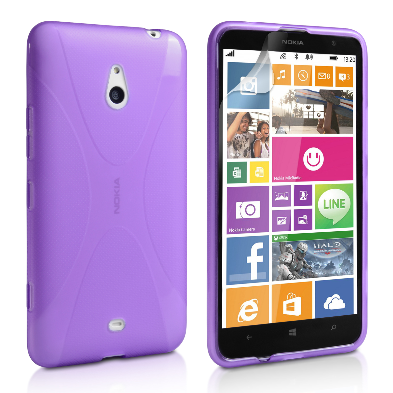 Θήκη Nokia Lumia 1320 by YouSave (Z278)