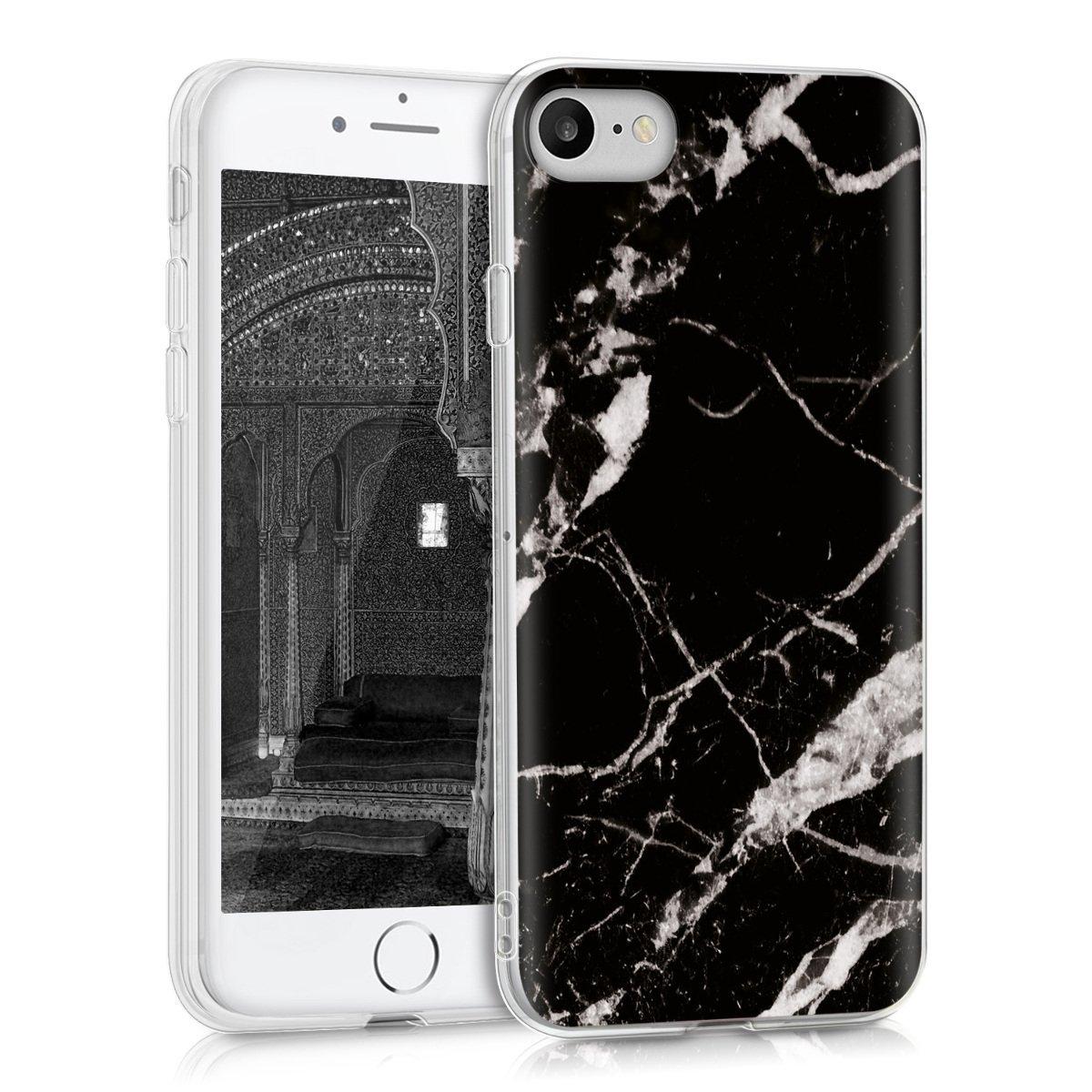 KW Θήκη Σιλικόνης iPhone  8 / 7 - Marble (39459.05)