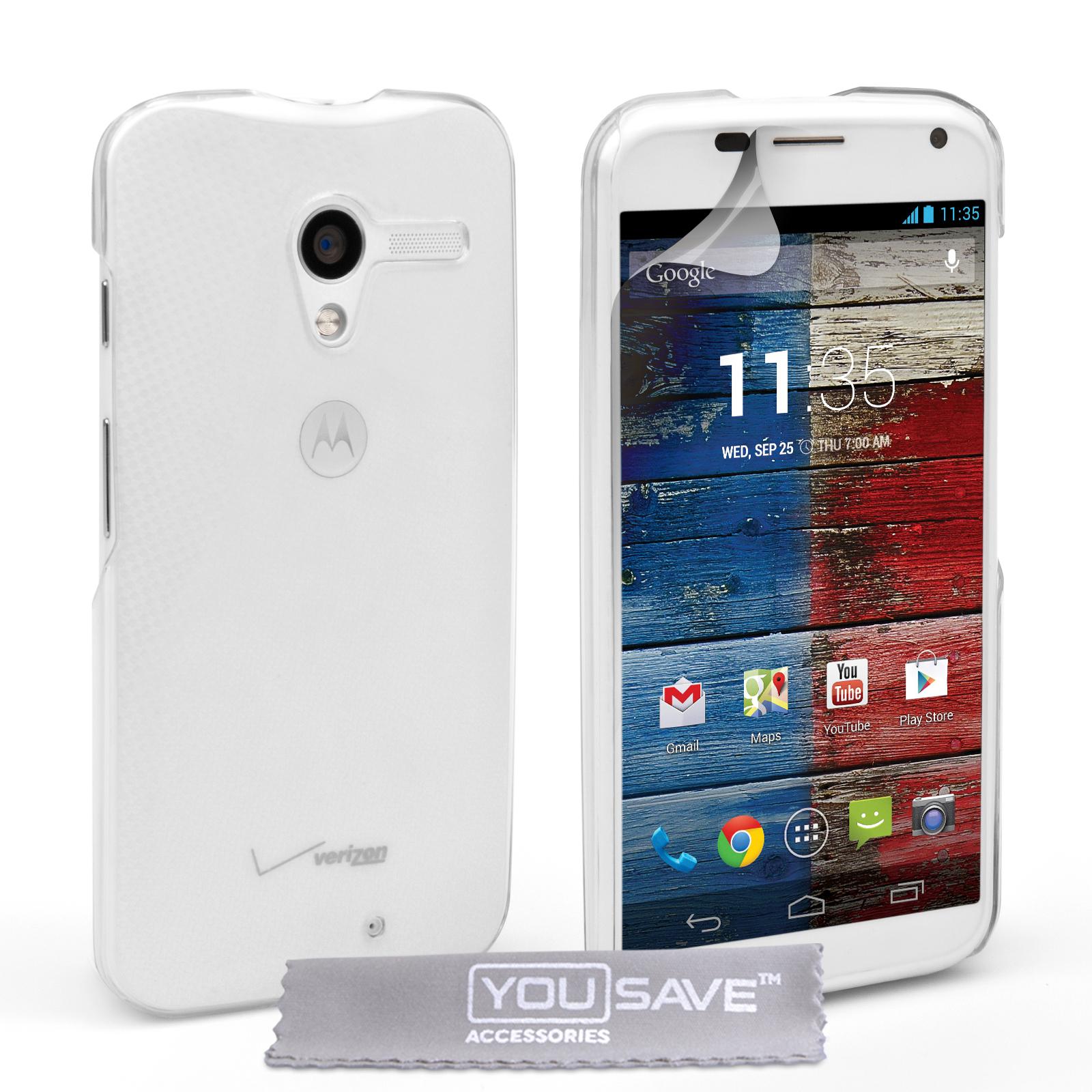 Διάφανη Θήκη Motorola Moto X by YouSave (Z166)