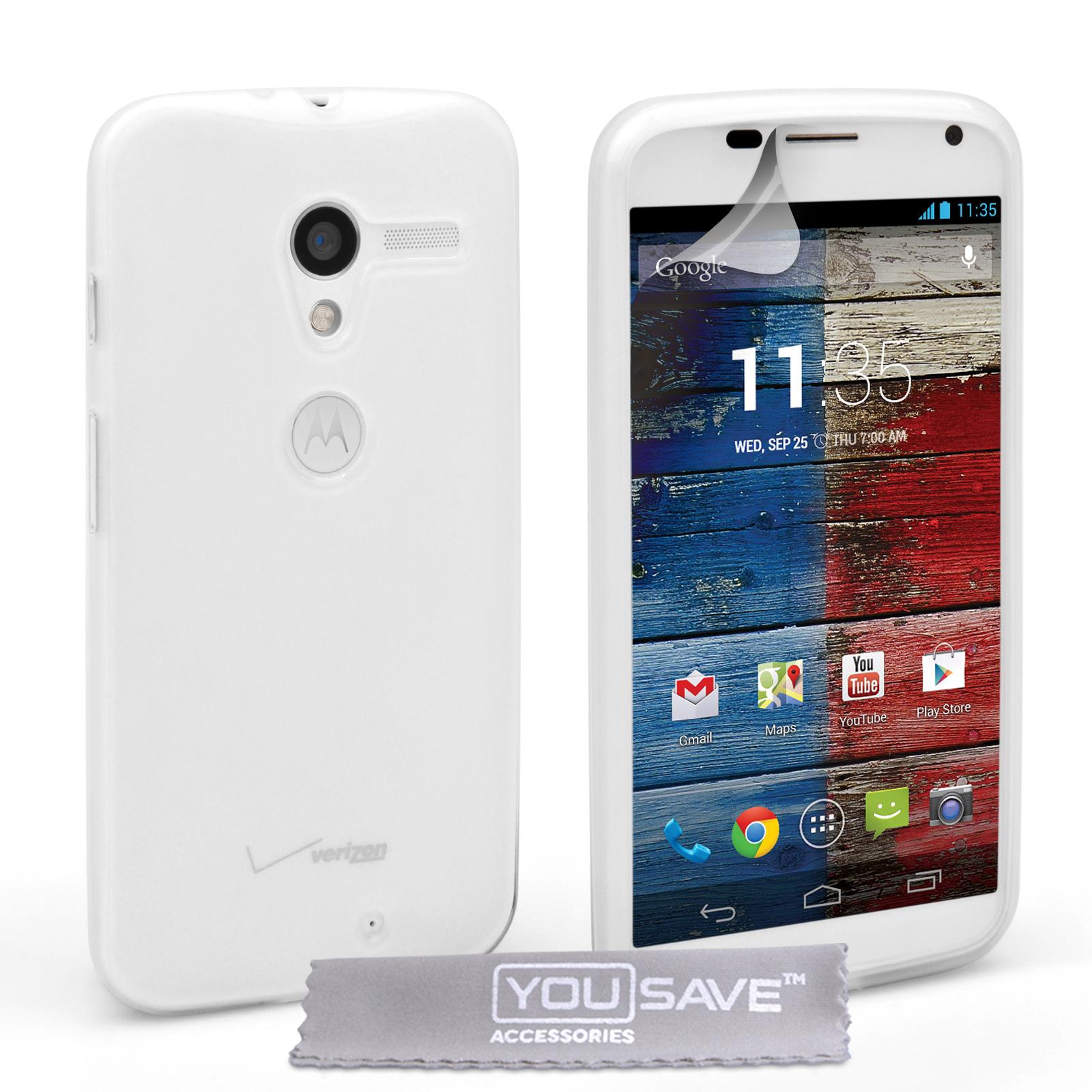 Ημιδιάφανη Θήκη Motorola Moto X by YouSave (Z156)