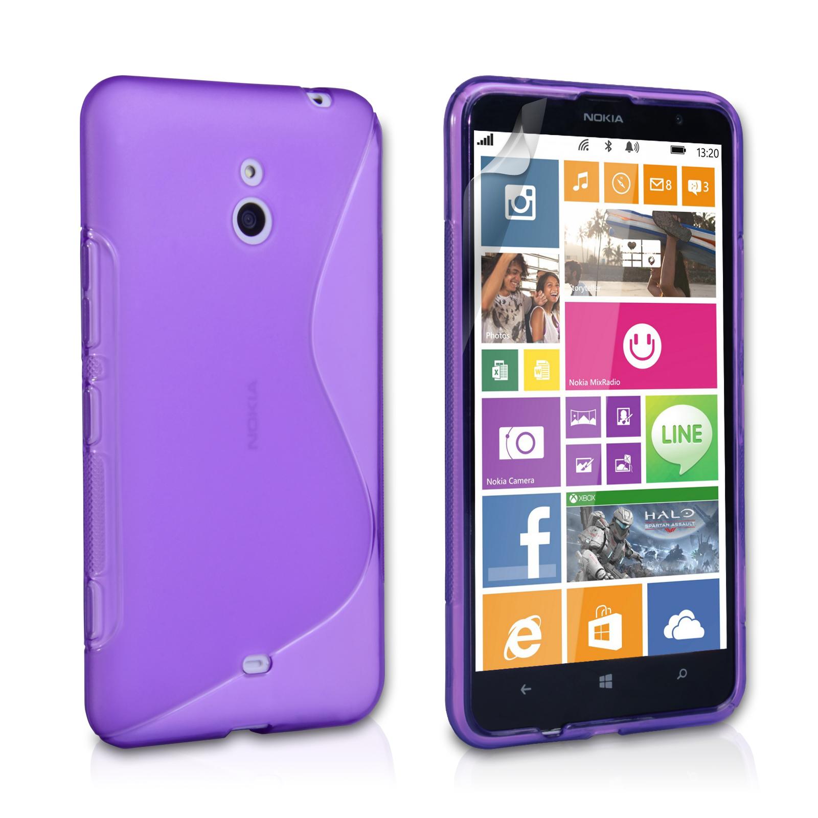 Ημιδιάφανη Θήκη Nokia Lumia 1320 by Caseflex (Z283)