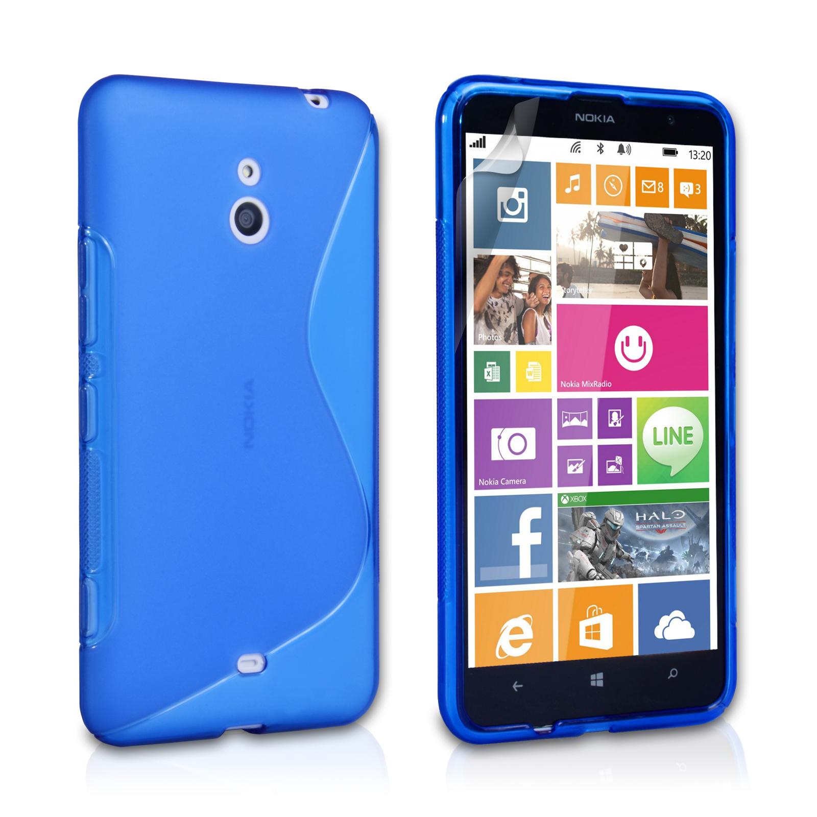Ημιδιάφανη Θήκη Nokia Lumia 1320 by Caseflex (Z282)