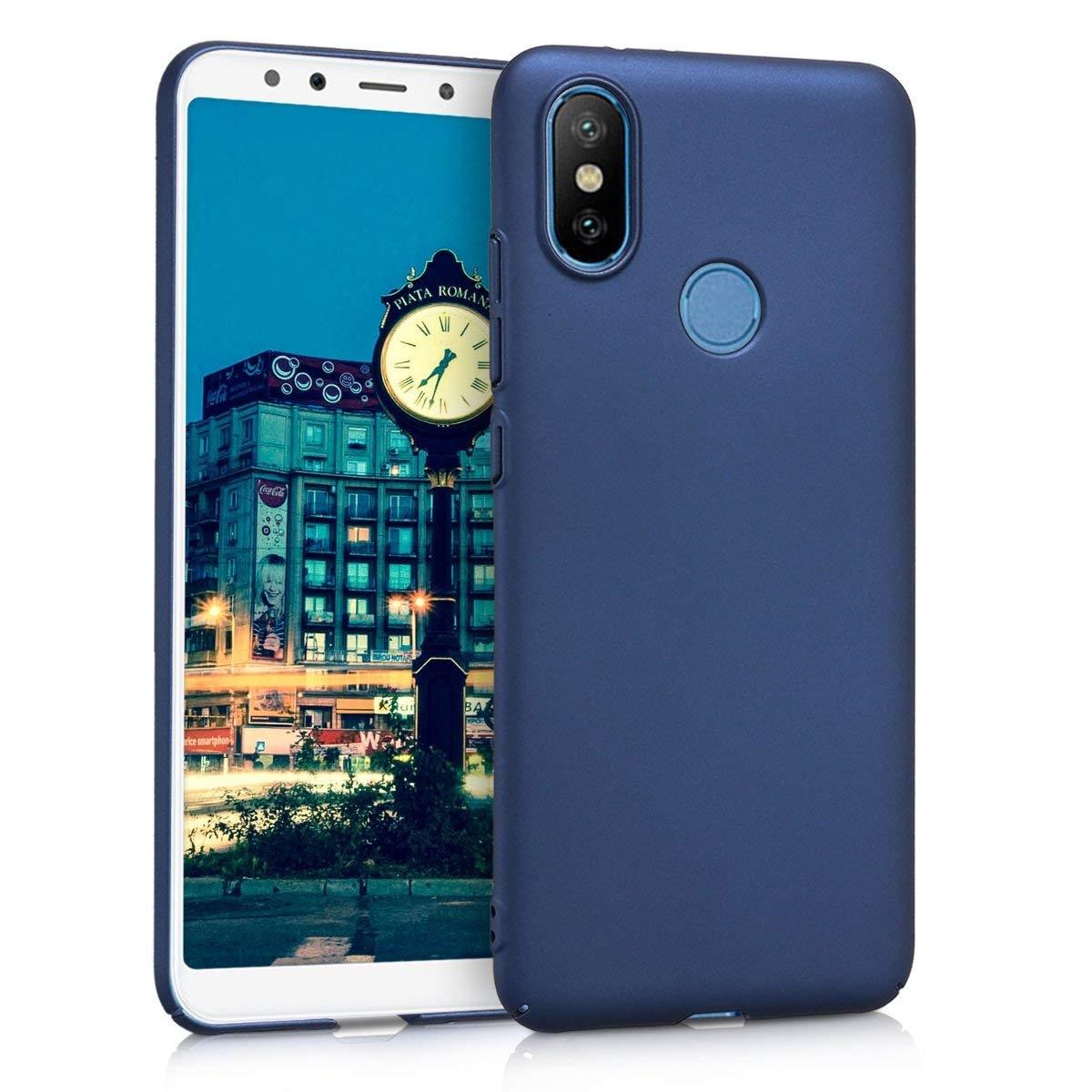 KW Σκληρή Θήκη Xiaomi Mi A2 / Mi 6X - Dark Blue Matte (45071.53)