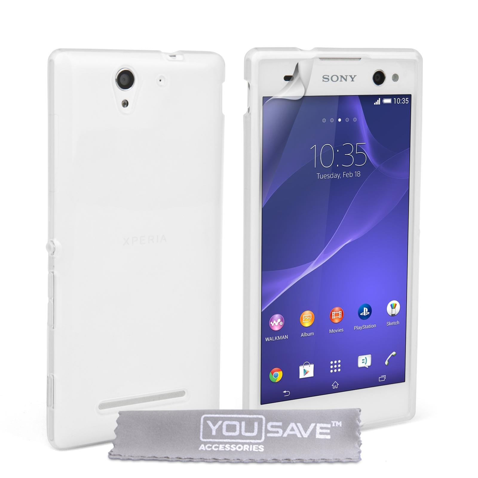 Ημιδιάφανη Θήκη Sony Xperia C3 by YouSave (Z695)