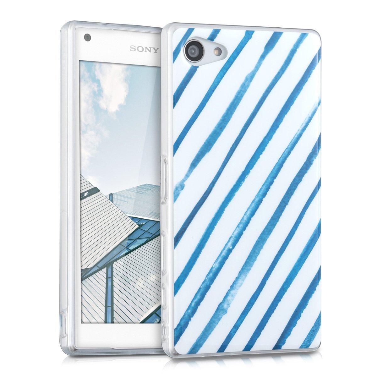 KW Θήκη Σιλικόνης Sony Xperia Z5 Compact (39098.01) - Watercolour Stripes