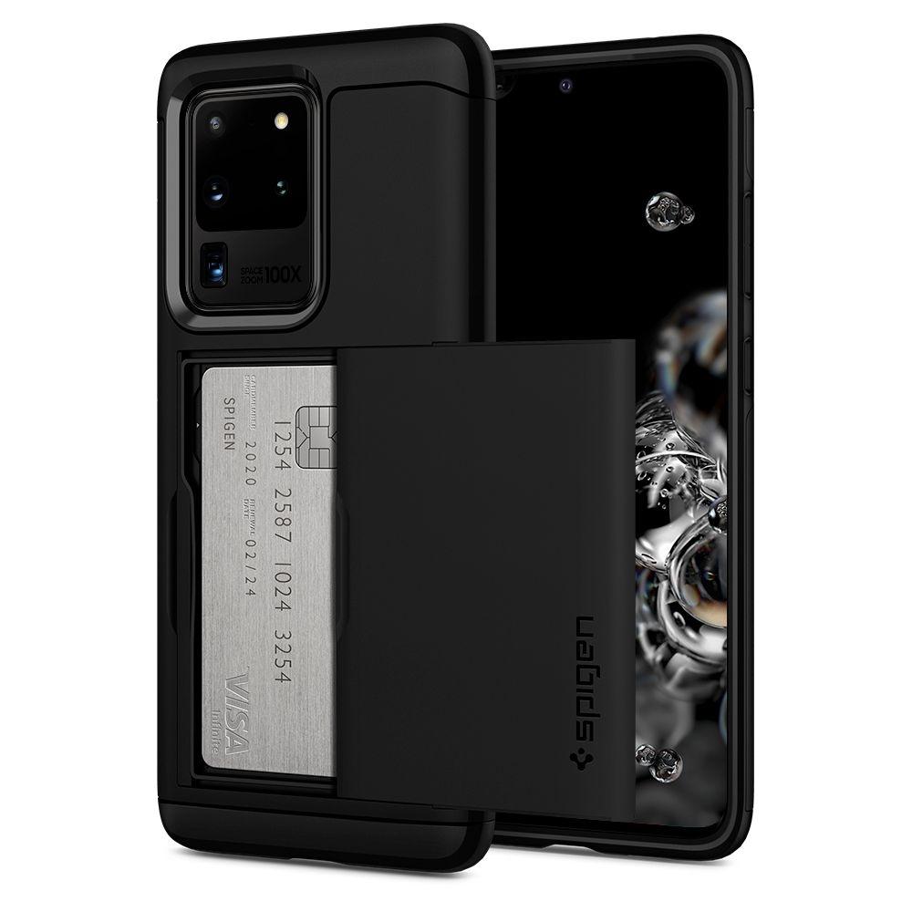 Spigen Slim Armor CS Θήκη Samsung Galaxy S20 Ultra - Black (ACS00719)