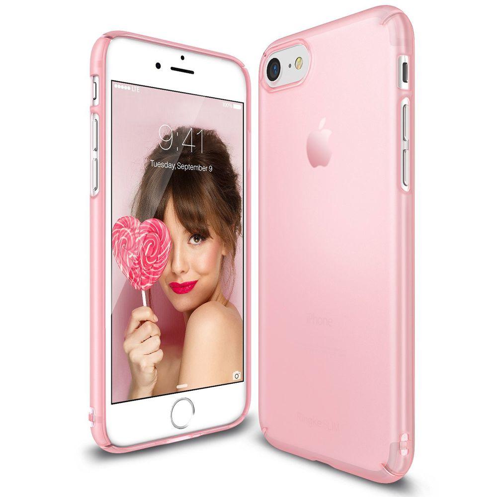 Ringke (Slim) Θήκη iPhone 8 / 7 - Frost Pink (RSL-APIPH7-FP)