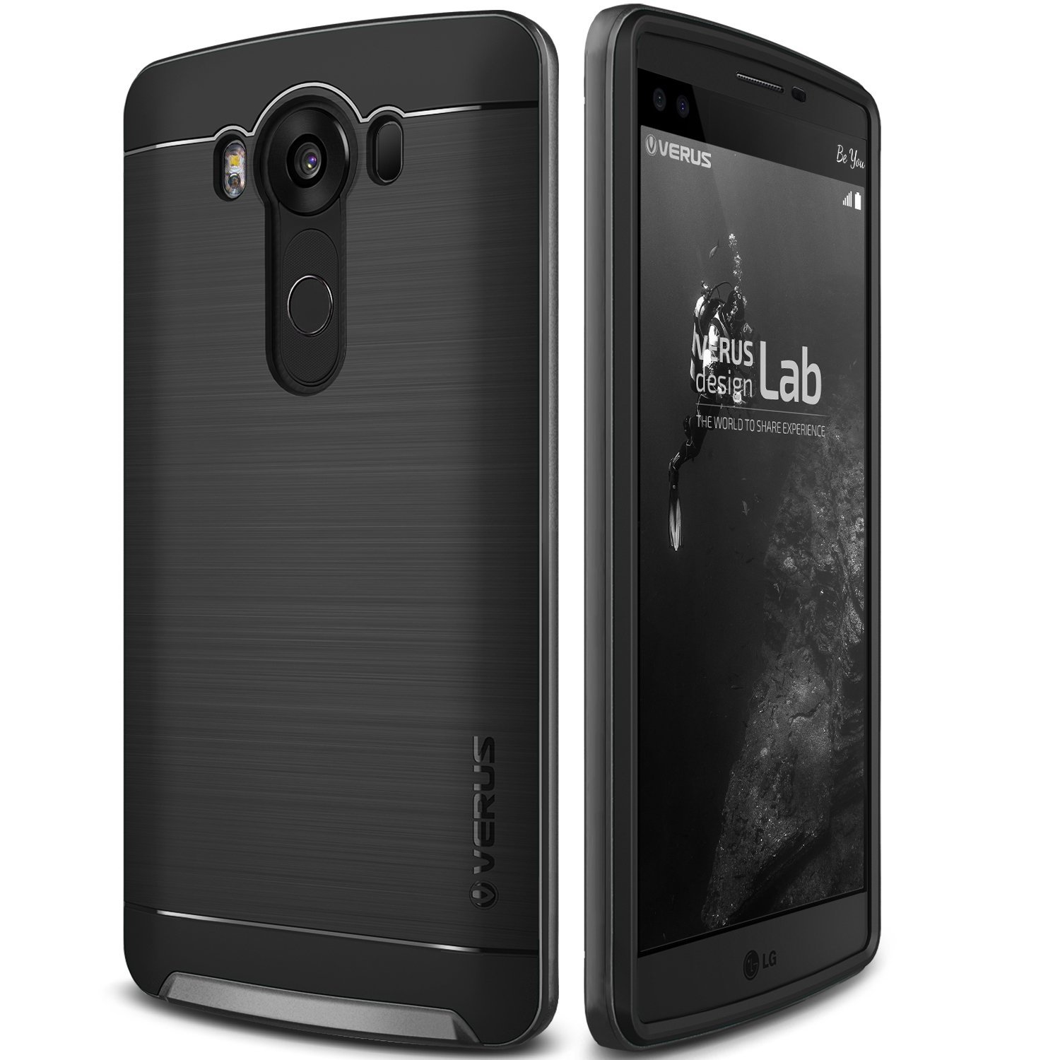Verus Θήκη High Pro Shield Series LG V10 - Steel Silver