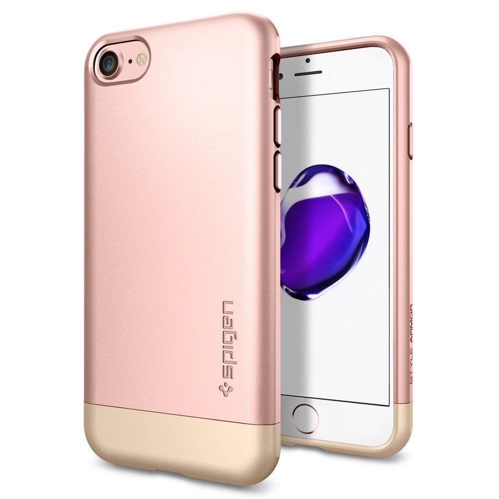 Spigen Θήκη Style Armor iPhone 7 - Rose Gold (042CS20517) θήκες κινητών