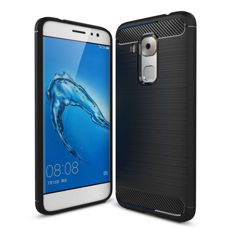 Θήκη TPU Carbon Huawei Nova Plus - Black (9347) - OEM