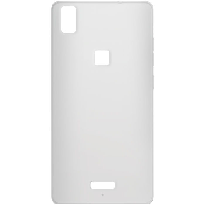 Ultra Thin Θήκη Σιλικόνης MLS Diamond 4G Fingerprint - Transparent White (11.CC. θήκες κινητών