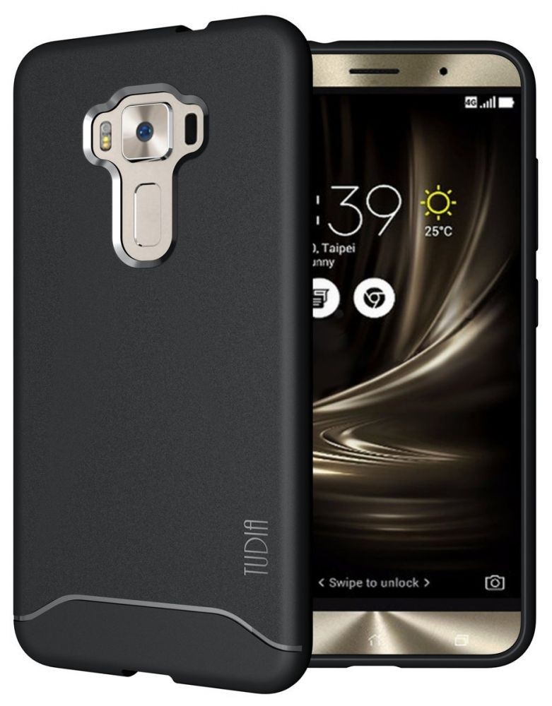 "Tudia Θήκη Σιλικόνης Asus ZenFone 3 (5.5"") - Black (TD-TPU3712) θήκες κινητών"