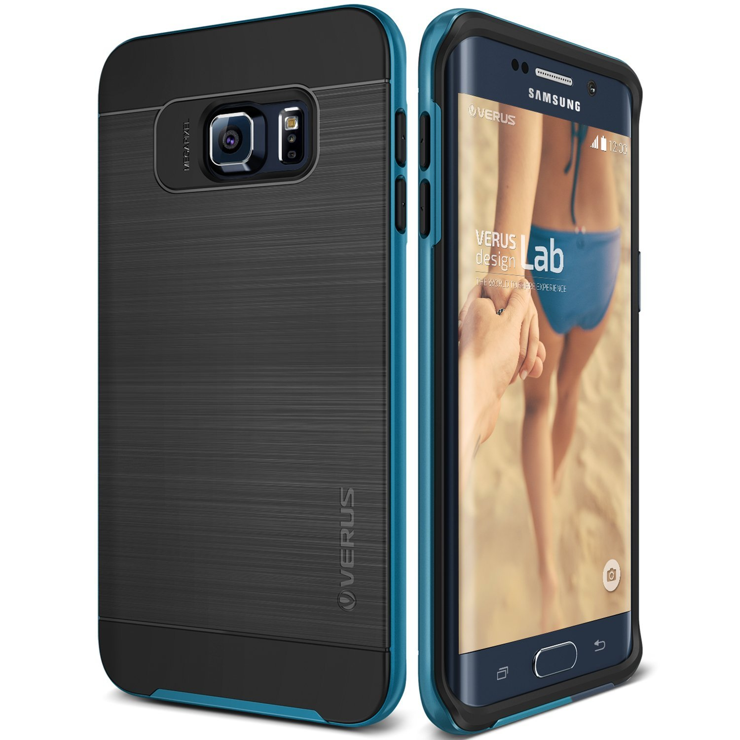 Verus Θήκη High Pro Shield Series Samsung Galaxy S6 Edge Plus - Electric Blue
