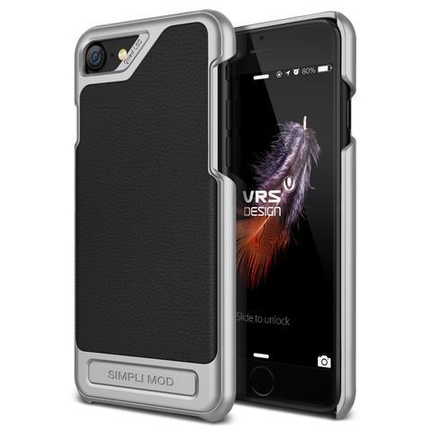 Verus Δερμάτινη Θήκη Simpli Mod iPhone 8 / 7 - Black (VDIP7-SMDBK)