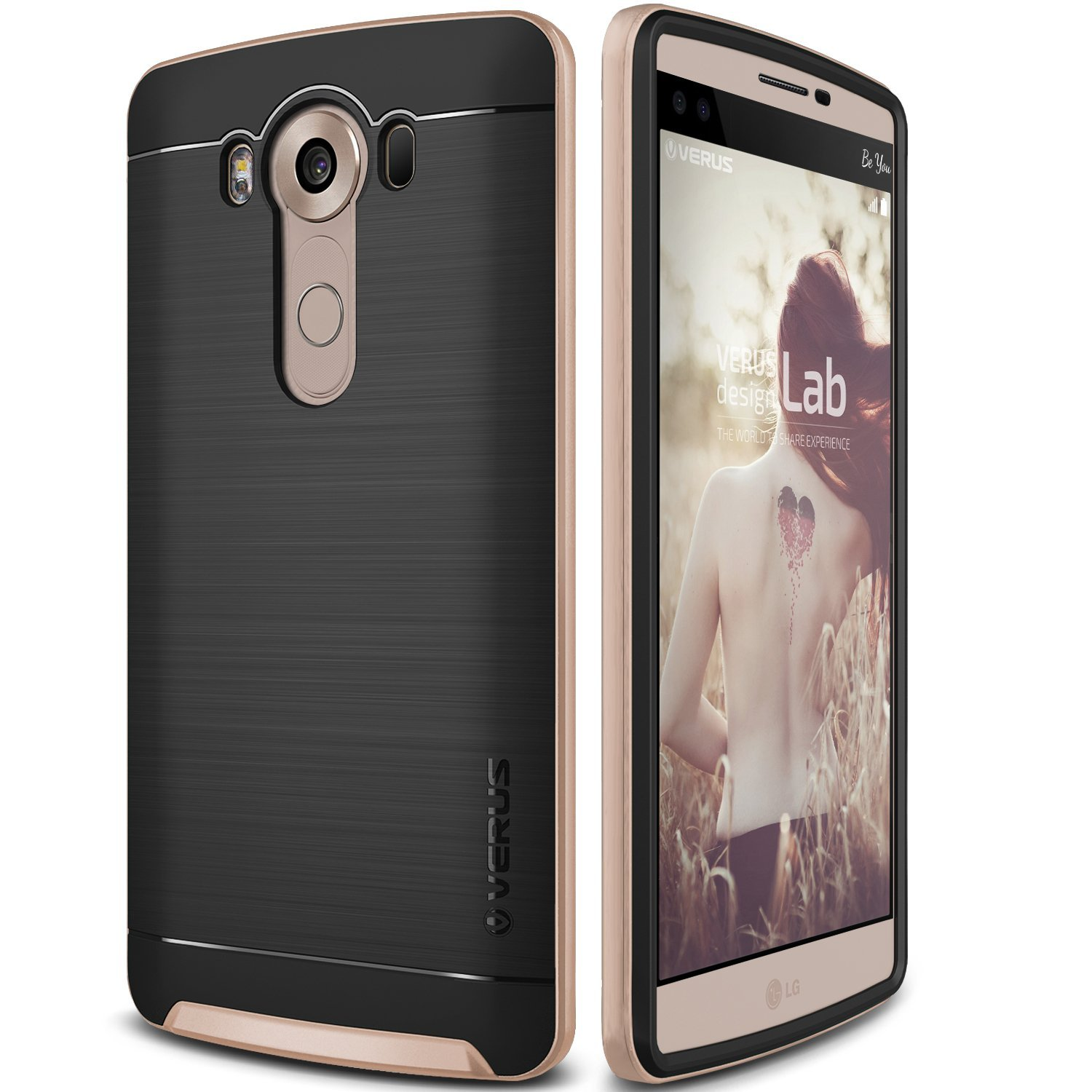 Verus Θήκη High Pro Shield Series LG V10 - Shine Gold (VRLV10-HPSGD)