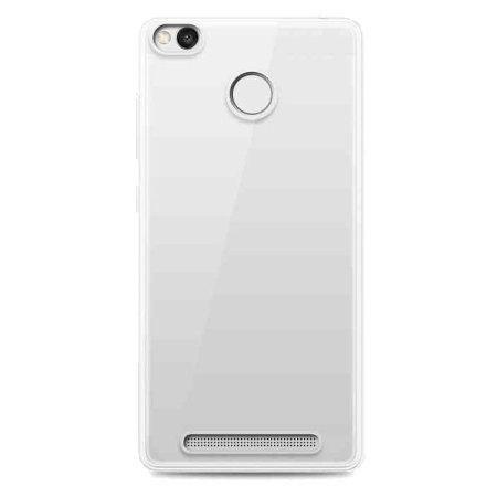 Olixar FlexiShield Διάφανη Θήκη Σιλικόνης Xiaomi Redmi 3S/3 Pro (62036) - Clear